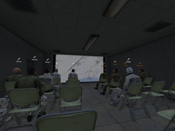 Operation - Schleiereule Einsatzbesprechung