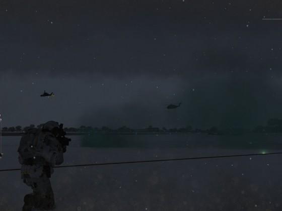 Operation - Schleiereule Evac durch Tiger + CH53