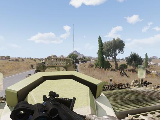 EUFOR 360 Grad Sicherung