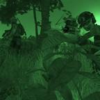 5.KdoKp auf dem Weg zur Sicherung der LZ für 4.FschJgKp